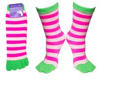 £1.99 instead of £4.99 for two pairs of colourful & comfy toasty toe socks from Ckent Ltd - save 60%