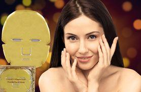 £6 instead of £26 for five golden collagen face masks from Ckent Ltd - save 77%