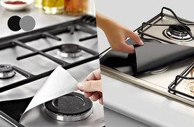 £4.98 instead of £17 (from Kequ) for four gas hob protector sheets - save 71%