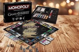 £24.99 instead of £45 (from Bubble Bedding) for a Game of Thrones Collector's Edition Monopoly game -  save 44%