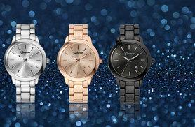 £12 instead of £59 (from Styled By) for a Geneva Sophia watch - select from rose, black and silver and save 80%