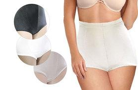 £4 instead of £9.99 (from Trifolium) for tummy tuck and bum control shapewear - choose from black, white and beige and save 60%