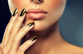 £19 instead of £50 for a shellac mirror manicure at Beauty on the Spot, City of London - save 62%