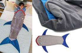 £9.99 instead of £56 (from EFMall) for a kids' shark tail blanket - save 82%