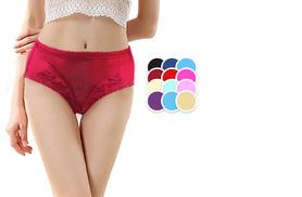 £6.99 instead of £29.99 (from Trifolium) for three pairs of embroidered knickers - save 77%