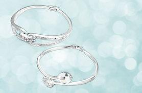 £14 instead of £62 (from Evoked Design) for a crystal bangle - save 77%