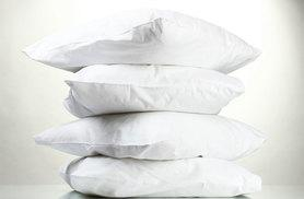 £16 instead of £109.99 (from Diana Cowpe) for four natural duck feather pillows - sleep well and save 85%