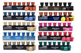 £10.99 instead of £22.70 (from Fine Coffee Club) for 100 Nespresso-compatible capsules in 10 fragrant flavours including Light Roast, Intense and Decaffeinated - save 52%