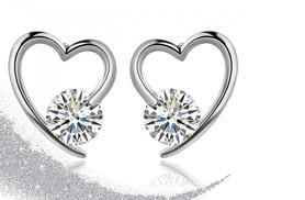 £12 instead of £149 (from Your Ideal Gift) for rhodium-plated earrings - save 92%