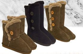 £16 instead of £36 (from Solewish) for a pair of ladies' winter boots in your choice of style - choose from two colours and save 56%