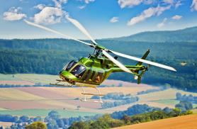 £99 instead of £238 for a 20-minute helicopter tour of Yorkshire for one person, or £169 for two people with Hields Aviation - save 58%