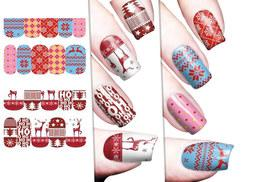 £3 instead of £9 (from Candy Chic) for a pack of Christmas nail transfers, £6 for a pack of four, £8 for a pack of six - save up to  70%