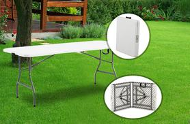 £19.99 instead of £38 (from Product Mania) for a 4 foot heavy-duty folding table - choose from red and white and save 47%