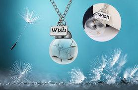 £6 instead of £45 (from My Boutique Store) for a wish necklace with dandelion seed charm - save 87%