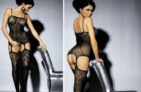 £7.99 instead of £29.99 (from Who Runs The World) for a lace bodystocking - save 73%
