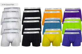 £12 instead of £22.96 (from Top Designer Clothing) for a six-pack of Location boxers, £19.99 for a 12-pack or £35 for a 24-pack - save up to 55%
