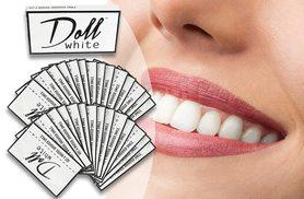 £9.99 instead of £21 (from Doll White) for a 14-day pack of teeth whitening strips, £14.99 for a 28-day pack - save up to 52%