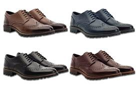 £24.99 instead of £140 (from Redfoot) for a pair of men's leather brogues - choose from four colours and save 82%