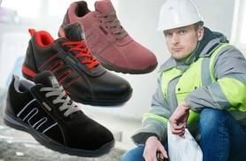 £18 instead of £56 (from Direct2Public) for a pair of steel toe capped safety trainers - protect your toes and save 68%