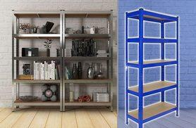 £22 instead of £199.99 (from Monster Shop) for a 75 x 150cm T-Rax heavy-duty shelving unit, or £39 for a 90 x 180cm unit, £39 for two or £39 for a 90x180 Galwick unit - save up to 89%