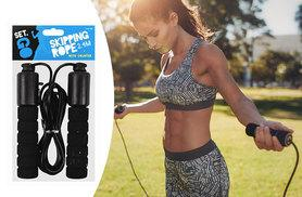 £3.99 instead of £17 (from Fair Retail Adventures) for a skipping rope with counter - get fighting fit and save 80%