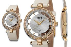 £49 instead of £290 (from Product Shelf) for a Burgi watch -choose from black, white, ivory and beige and save 83%