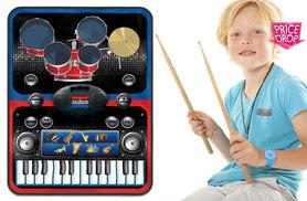 £14.99 instead of £75 (from Vivo Technologies) for a 2-in-1 piano and drums music jam play mat - save 80%