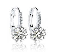 £16 instead of £299 (from Your Ideal Gift) for a set of clear crystal earrings - dress up your ears and save 95%