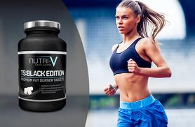 £7 instead of £30 (from Nutri-V) for a one-month* supply of T5 Black Edition 'Fat Burner' tablets, or £16 for a three-month* supply - save up to 77%