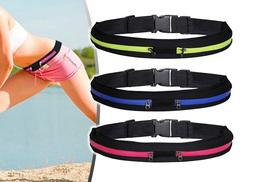 £3.49 for a sports running belt - choose from six colours!