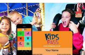 £29.99 instead of £75 for a 12-month Kids Pass to 1000s of attractions, cinemas and restaurants from Kids Pass - save 60%