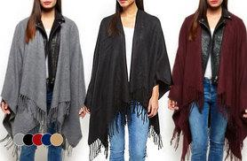 £8 instead of £17.96 (from Urban Mist) for an oversized fringe blanket wrap - choose from five colours and save 55%