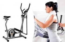 £99 instead of £299.99 (from Bells Bay) for a two-in-one exercise bike cross trainer, with a limited number available for £79 - save up to 74%