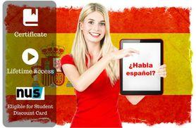 £8 instead of £100 for an online 'conversational spanish made easy' course from OfCourse - save 92%