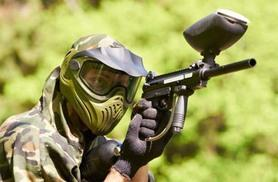 £9 for a paintballing day for five including 100 paintballs each, £15 for 10 people, or £22 for 20 with Mayhem South East - choose from seven locations and save up to 82%