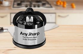 £8.99 instead of £12.99 (from Rhino Cables) for an AnySharp knife sharpener – slice the price and save 31%