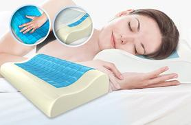 £19.99 instead of £69.99 (from Trend Shopy) for an all seasons cool gel contouring memory foam pillow - save 71%