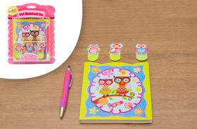 From £4.99 for a kids' creative owl notebook from Ckent Ltd - save up to 50%
