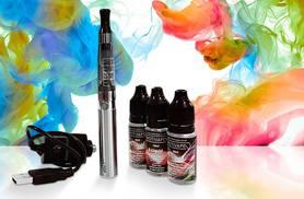 £9 (from Motivape) for an e-cigarette starter kit with three e-liquids