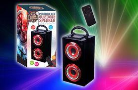 £12.99 instead of £23 for an led light up portable speaker from Ckent Ltd - save 44%