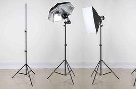 £9.99 instead of £79.99 for a 2.1 meter aluminium photography light tripod from Deals Direct - get snapping and save 88%