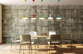 £21 instead of £34.74 for a hanging LED pendant light in blue, green, red and yellow from LED Bulb Centre Ltd - save 40%