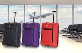 £9.99 (from Karabar) for a Slimbridge Montecorto cabin trolley bag - choose from three colours in two designs