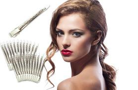 £5 instead of £19.99 (from Deals Direct) for a pack of 90mm 24 metal hair sectioning clips - start styling and save 75%
