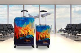£59 (from Karabar) for a two-piece hard shell luggage set