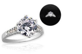 £19 instead of £149 (from Your Ideal Gift) for a clear crystal ring - save 87%