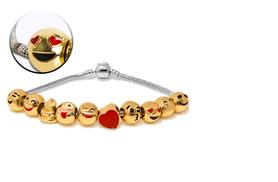 £12 instead of £76.01 (from My Boutique Store) for an emoji charm bracelet - get glam and save 84%