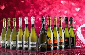 £69 instead of £128.86 (from San Jamón) for a 12-bottle selection of prosecco and cuvée - get ready for Valentine's day and save 46%