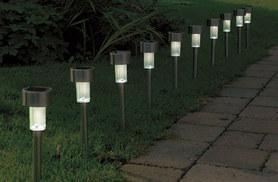 £7.99 instead of £26 (from Vivo Mounts) for 10 solar stainless steel post lights - save 69%