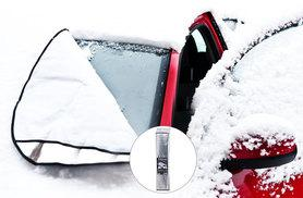 £6.99 instead of £29.98 (from Bargainshop London) for a pack of two car windscreen frost guards – save 77%